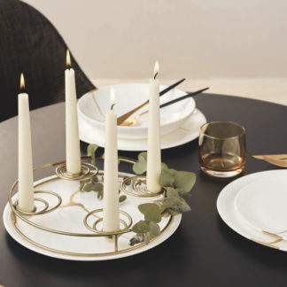Kerzenständer gold ø 29,5