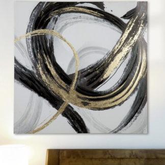 "Leinwandbild auf Keilrahmen ""CURVATURA"" Casablanca 100 x 100 cm"