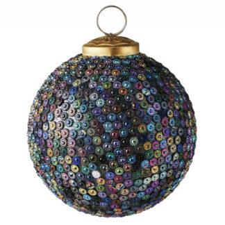 Weihnachtskugel 2er Set SEOUL GiftCompany kleine Steine bunt ø 10 cm