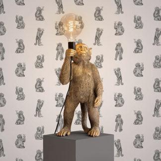 Tischlampe Affe KOKO Werner Voss H 55 cm