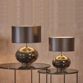 Tischlampe | Tischleuchte VULCANIC schwarz H 49 |60 cm