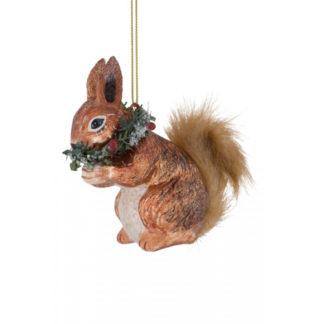 Weihnachtsbaumschmuck EICHHÖRNCHEN GiftCompany H 10 cm