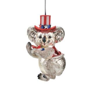 Weihnachtsbaumschmuck KOALA MIT ZYLINDER GiftCompany H 12 cm
