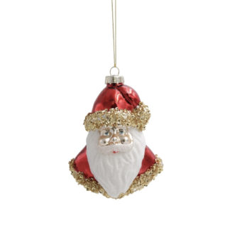 Weihnachtsbaumschmuck SANTA FACE Werner Voss H 12 cm