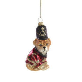Weihnachtsbaumschmuck SERGANT DOG Werner Voss H 10 cm