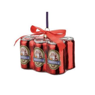 Weihnachtsbaumschmuck SIXPACK BIERDOSEN GiftCompany H 6,5 cm