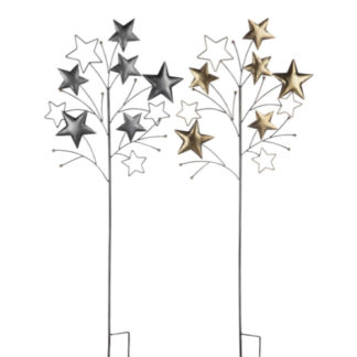 Weihnachtsdeko   Gartenstecker STERNE Casablanca H 125 cm