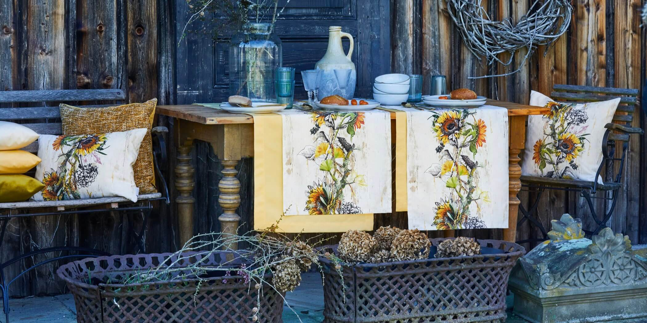 Herbttextilien | Herbst Kissen & Herbst Tischdecken