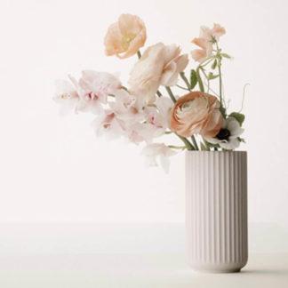 LYNGBY Vase rosé Porzellan H 25 cm