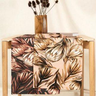 Tischläufer Magma PROTEA rose 40 x 145 cm