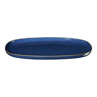 Platte oval ASA seasons midnight blue