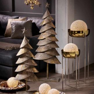 Weihnachtsbaum Metall | Metall Tannenbaum H 90 | 120 cm