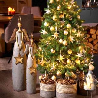Weihnachtsengel   Metallengel ARIEL & NURIEL H 80   102 cm